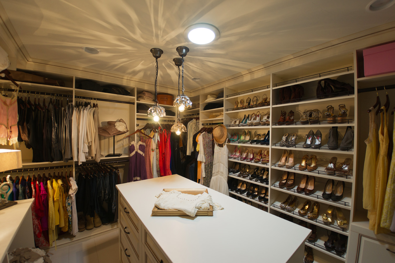 closets for singer songwriter glamorous stylish walk in closet designs
