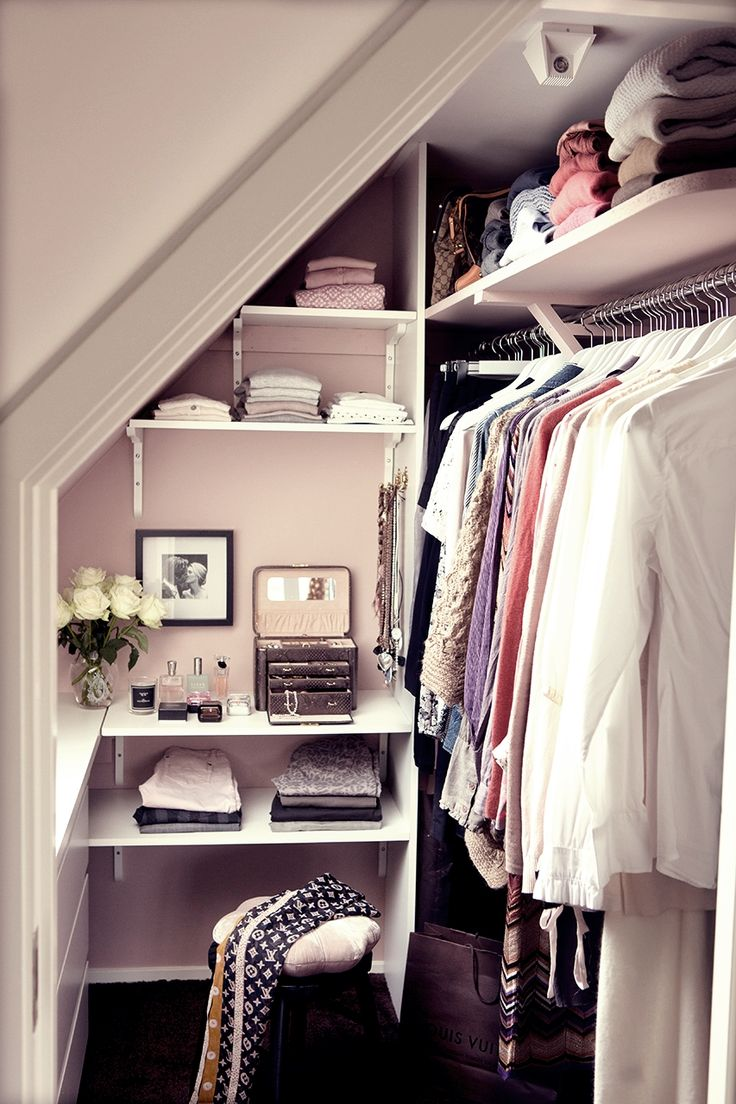 liten walk in closet